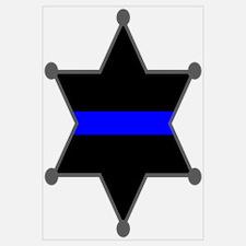 Blue Line Badge 2