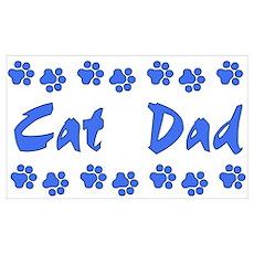 Cat Dad Poster
