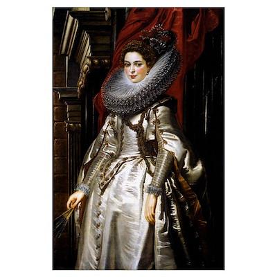 Portrait of Marchesa Brigida Poster