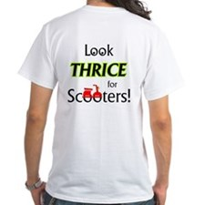 Look THRICE for scooters T-Shirt