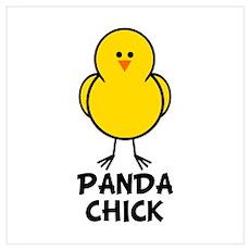 Panda Chick Poster