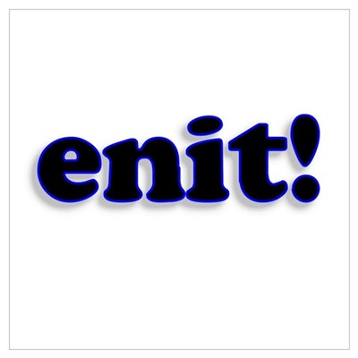 Enit Poster