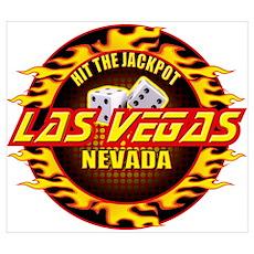 Hit The Jackpot - Las Vegas, Poster