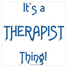It's a Therapist Thing! Poster