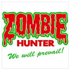Zombie Hunter Society Poster