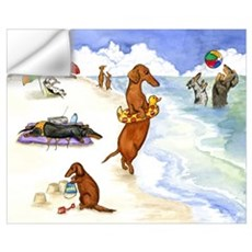 Dog Beach Wall Decal