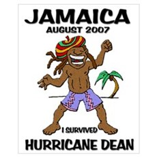Jamaica Hurricane Dean Canvas Art