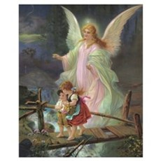 Victorian Angel Poster
