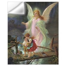 Victorian Angel Wall Decal