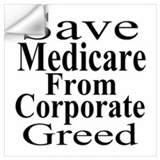Save Medicare Wall Decal