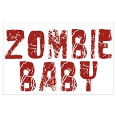 Zombie Baby Poster