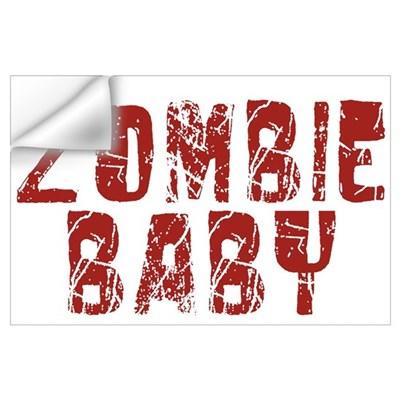 Zombie Baby Wall Decal