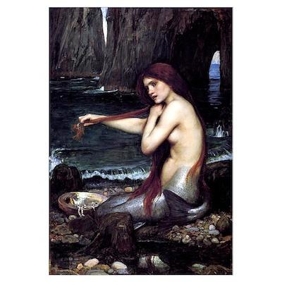 A Mermaid Poster