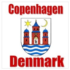 The Copenhagen Store Poster