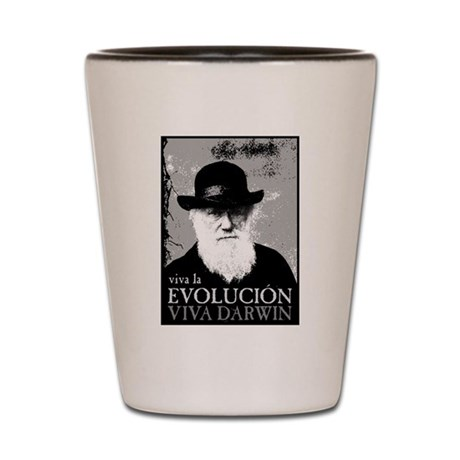 Viva Darwin Evolucion Shot Glass