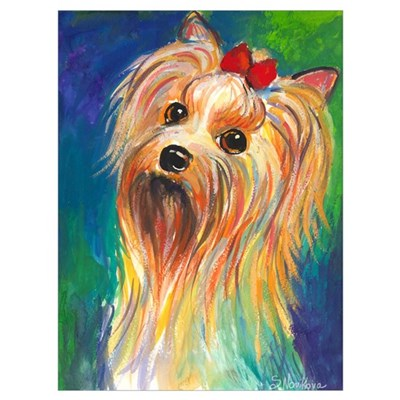 "15x20"" Yorkshire terrier #2 Canvas Art"