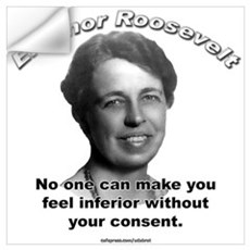 Eleanor Roosevelt 01 Wall Decal