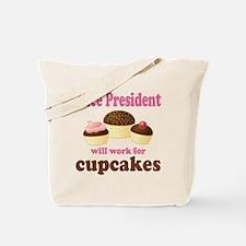Funny Vice President Tote Bag
