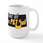Member of the PET Set Large Mug
