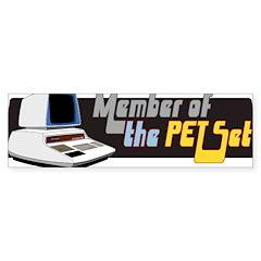 Member of the PET Set Bumper Sticker