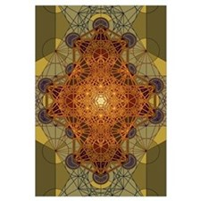 Sacred Geometry Metatron's Cube Mandala Two
