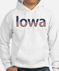 Iowa Stars and Stripes Hoodie