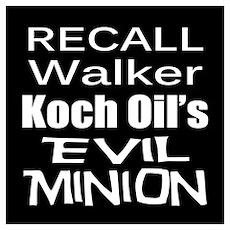 Recall Scott Walker Poster