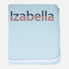 Izabella Stars and Stripes baby blanket