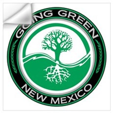 Going Green New Mexico (Tree) Wall Decal