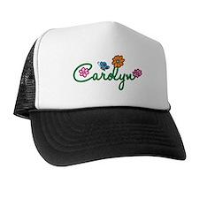 Carolyn Flowers Trucker Hat
