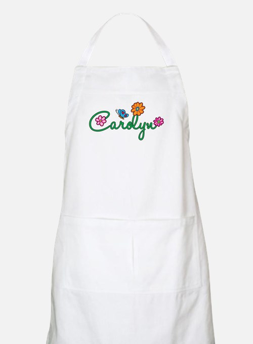 Carolyn Flowers Apron