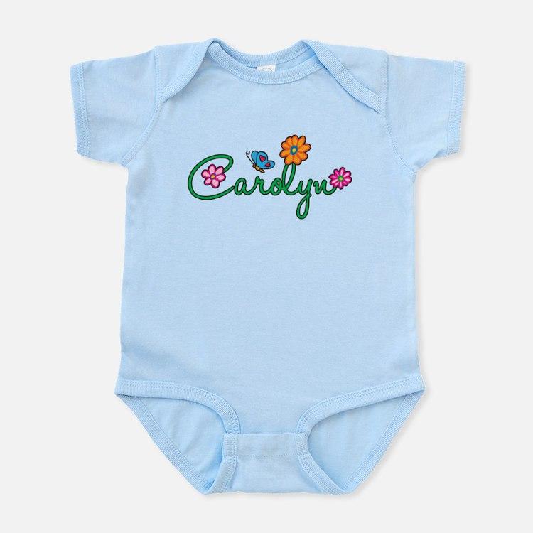 Carolyn Flowers Infant Bodysuit