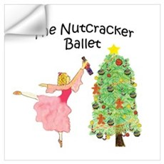 Nutcracker & Clara Wall Decal