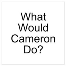 Cameron Poster