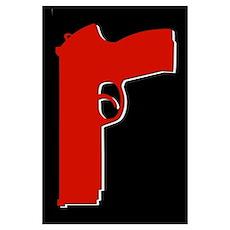 Red Beretta Poster