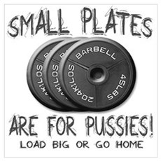 Small plates... Poster