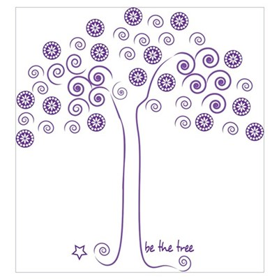 be the tree Canvas Art