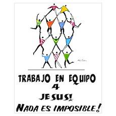 Spanish: Teamwork! Poster