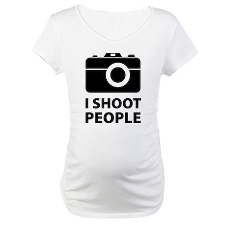 I Shoot People Maternity T-Shirt