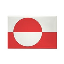 Cute Greenland Rectangle Magnet