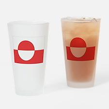 Cute Greenland Drinking Glass