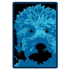 Labradoodle - color 3 Canvas Art