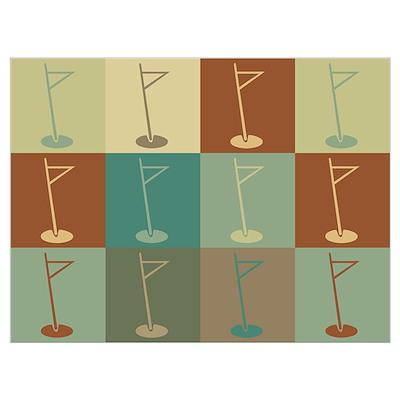 Golf Pop Art Poster