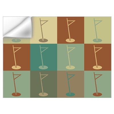 Golf Pop Art Wall Decal