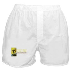 Never Argue With a Fool Boxer Shorts