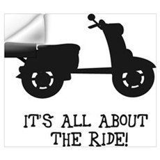 It's All About The Ride Wall Decal