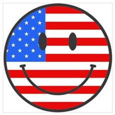 4th Of July Happy Smile Poster