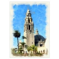 Balboa Park Tower Poster