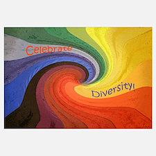 Cute Diversity Wall Art