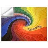 Celebrate diversity Wall Decals